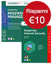 Kaspersky Internet Security & Password Manager - Offerta   Speciale!
